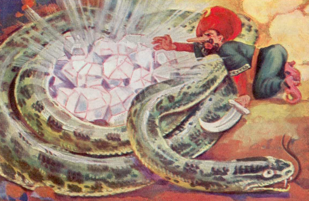 'The Legend of Sinbad' Cannes Art Promises Giant Snakes