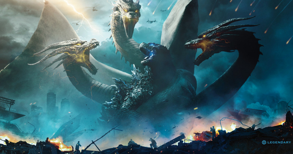 Series of Stunning 'Godzilla: King of the Monsters' Banners Are