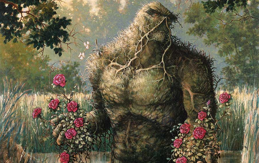 Image result for swamp thing alan moore""