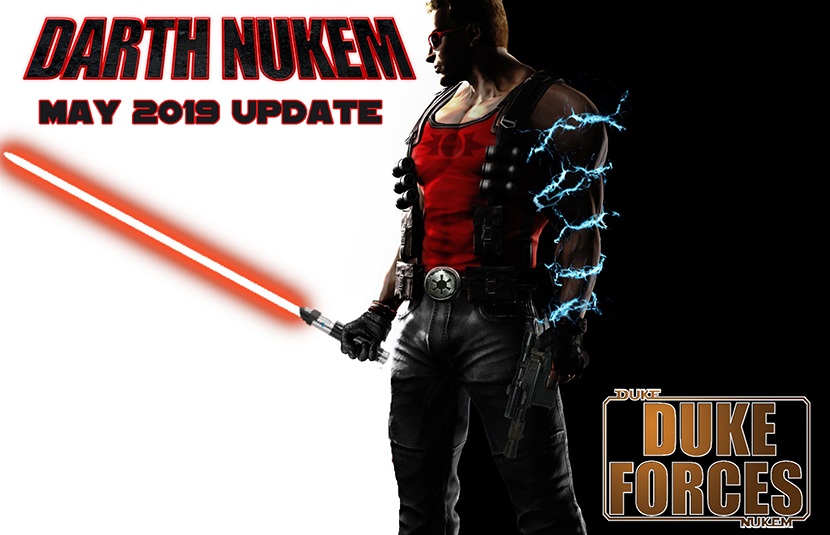 Duke Nukem Does Star Wars In Duke Forces Mod For Duke Nukem 3d