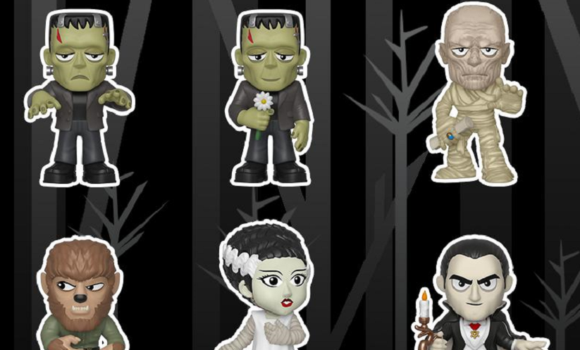 Funko Pays Tribute to the Classics With Universal Monsters Wave of Mystery Minis Toys!