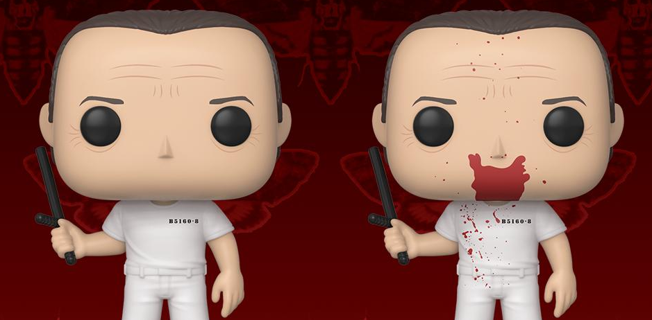 Two Silence Of The Lambs Pop Vinyl Toys Of Hannibal