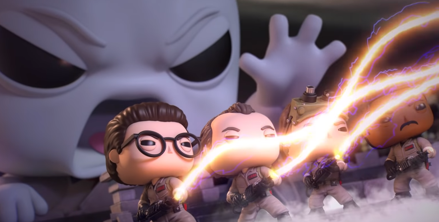 Funko Brings 'Ghostbusters' POP! Toys to Life for Fun 35th Anniversary Tribute Video