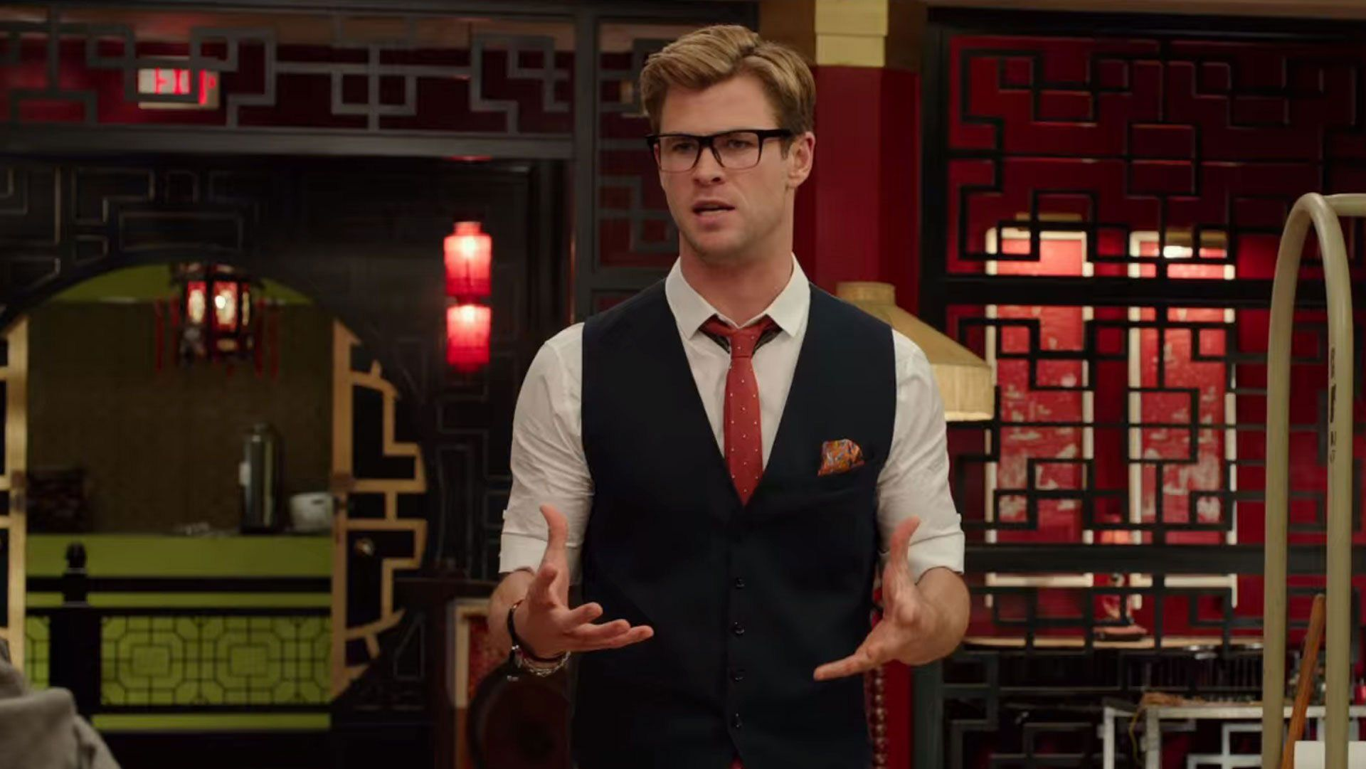 Image result for chris hemsworth ghostbusters