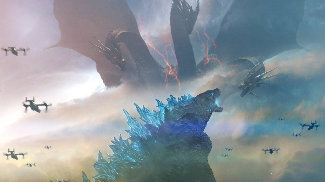 3fd90617f6b 3D and IMAX Posters Continue Trend of 'Godzilla: King of the Monsters'  Having Jaw Dropping Art