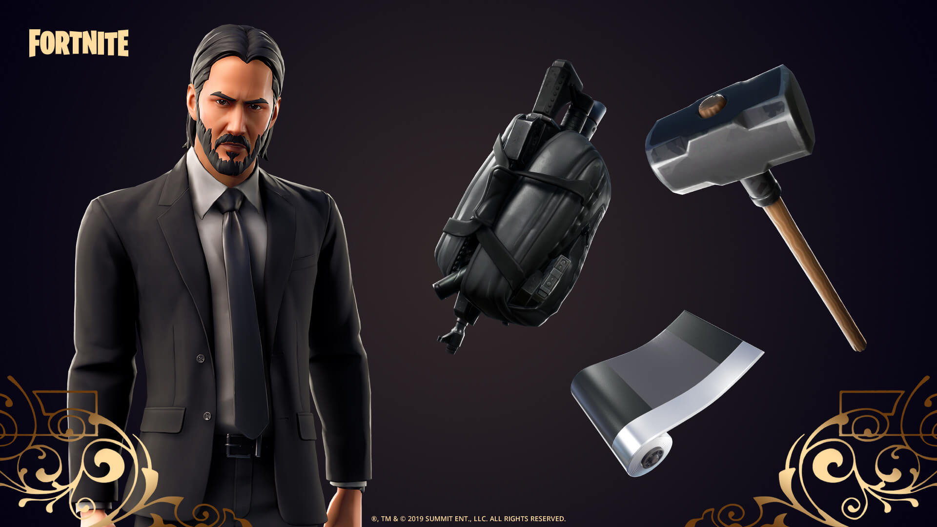 John Wick' Officially Hits 'Fortnite' in Latest In-Game