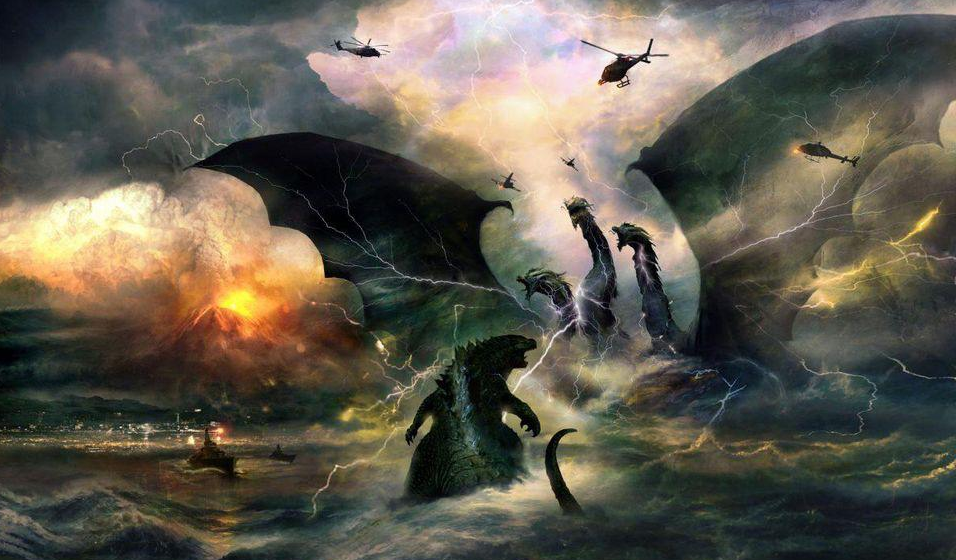 [Images] Get a Taste of 'Godzilla: King of the Monsters' With This Massive Gallery of Concept Art!