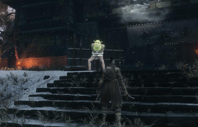 The Wait is Ogre: Shrek Has Been Modded Into 'Sekiro: Shadows Die Twice'