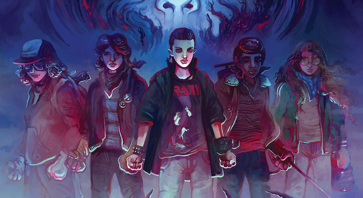 """Stranger Things"" Art Book 'Visions from the Upside Down' Coming Soon and We've Got an Exclusive Peek!"