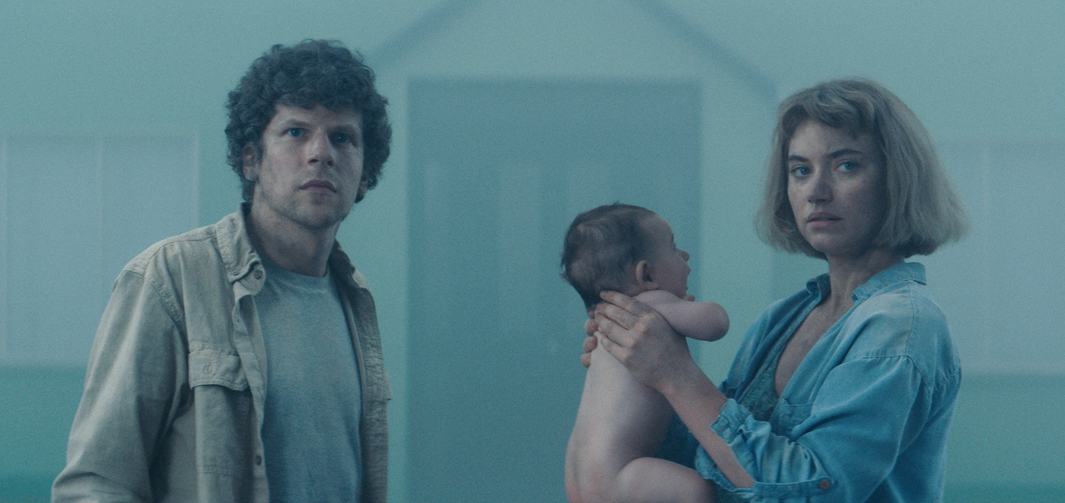"'Vivarium': Jesse Eisenberg and Imogen Poots are Sold on the ""Yonder"" Community [Clip]"