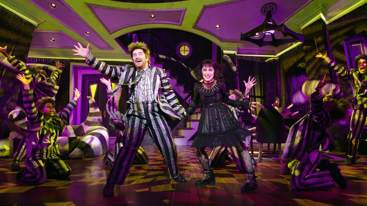 Review Beetlejuice The Musical Is Filled To The Brim With Spine Chilling Fun Bloody Disgusting