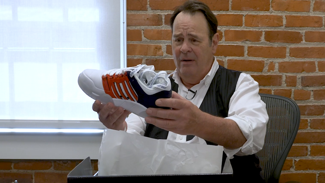 Stay Puft and Slimer Sneakers