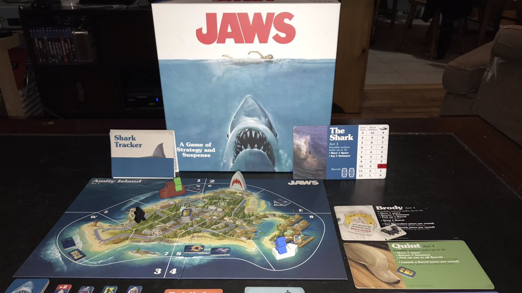 Play as the Shark or the Heroes in New 'JAWS' Board Game, Available