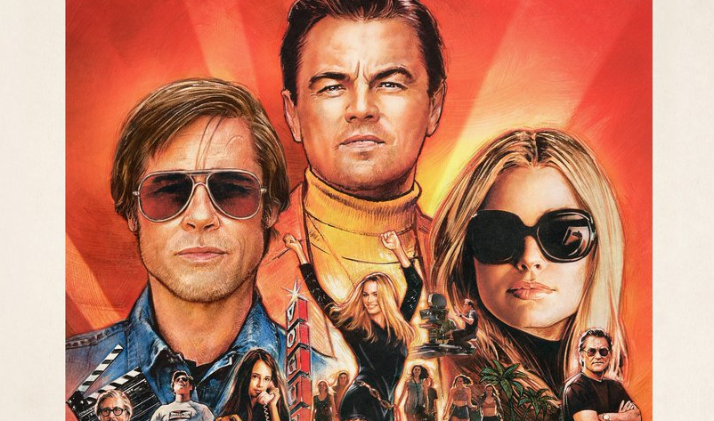 New Poster for Tarantino's 'Once Upon a Time in Hollywood' Channels Retro Movie Poster Art