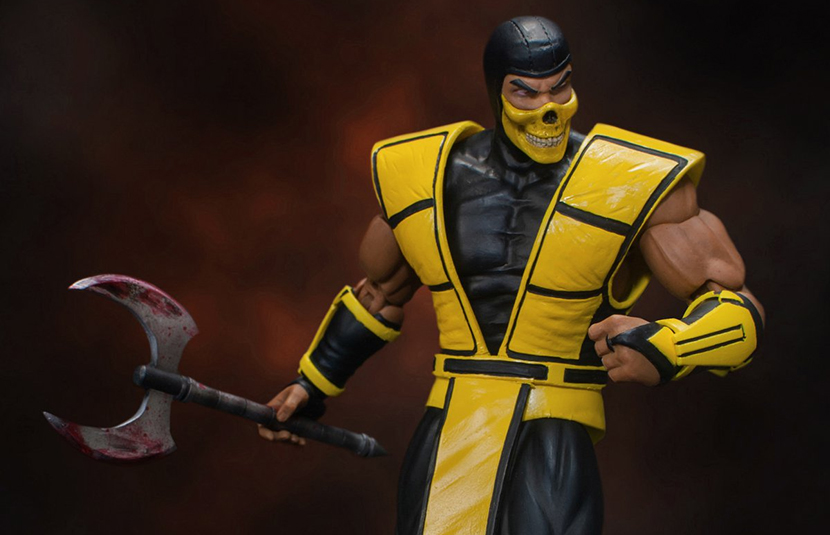 Storm Collectibles Unveils Scorpion Figure From 'Ultimate