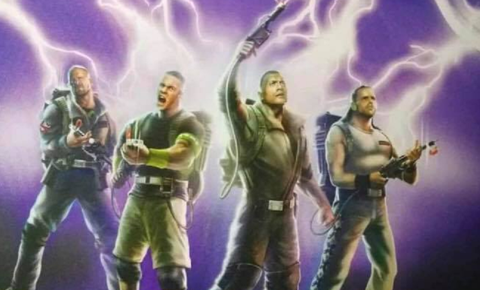 Mattel Reportedly Mashing Together 'Ghostbusters' and WWE Superstars for New Toy Line