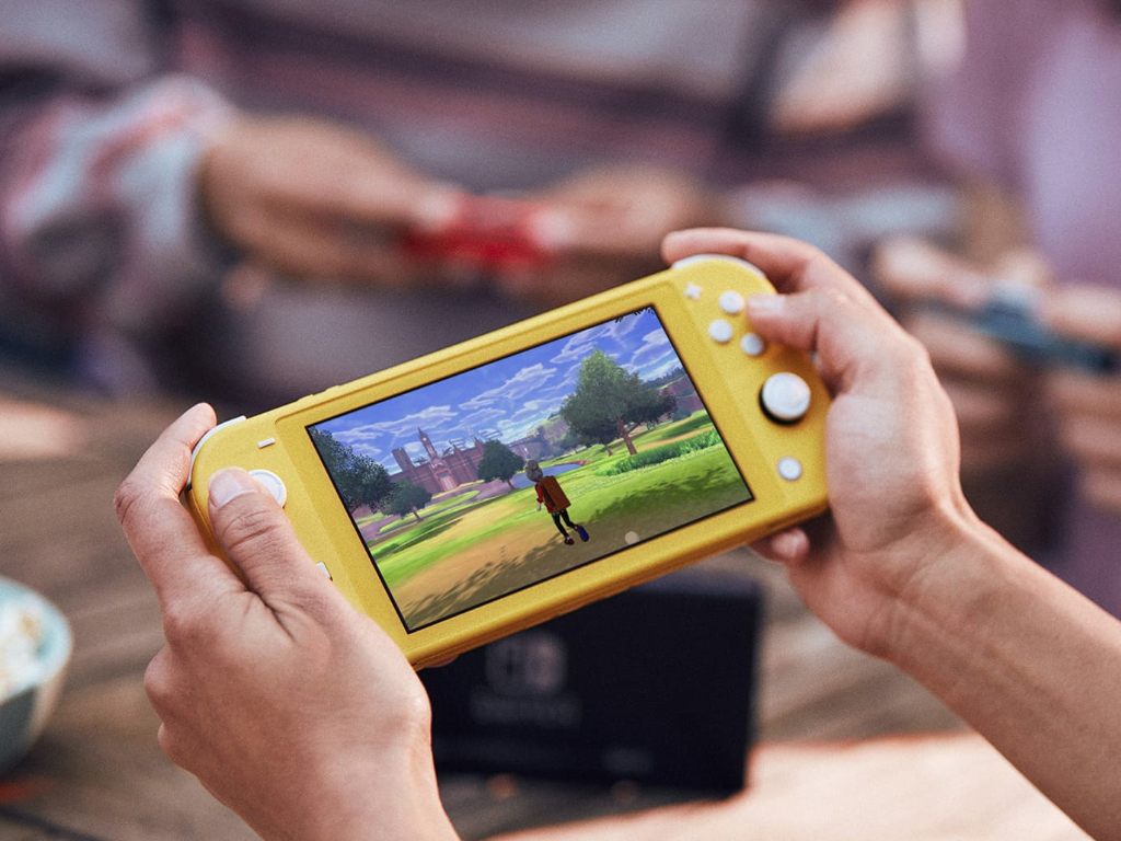 Nintendo Announces the Switch Lite, a Portable-Only Home For