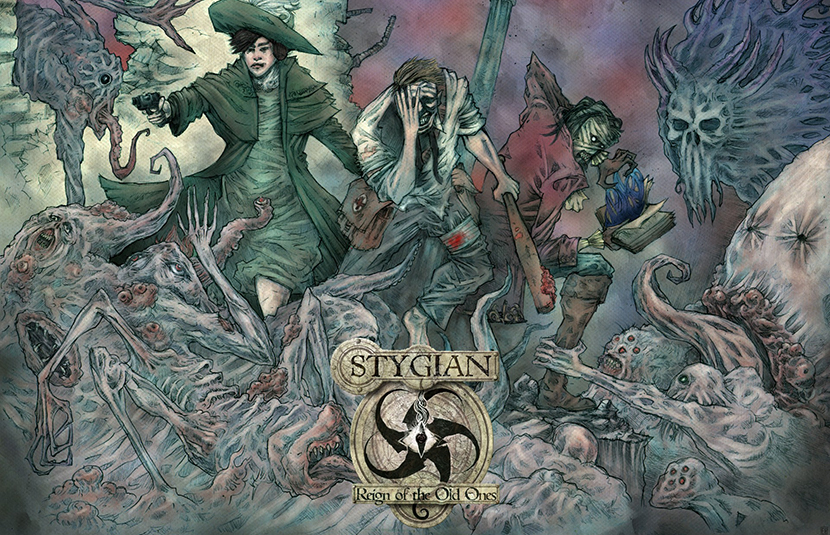 Lovecraftian RPG 'Stygian: Reign of the Old Ones' Arrives