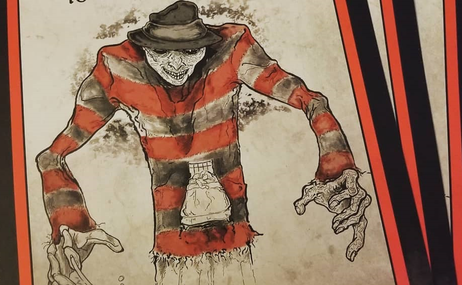 This Artist Turns Horror Movies into Their Own 'Scary Stories to
