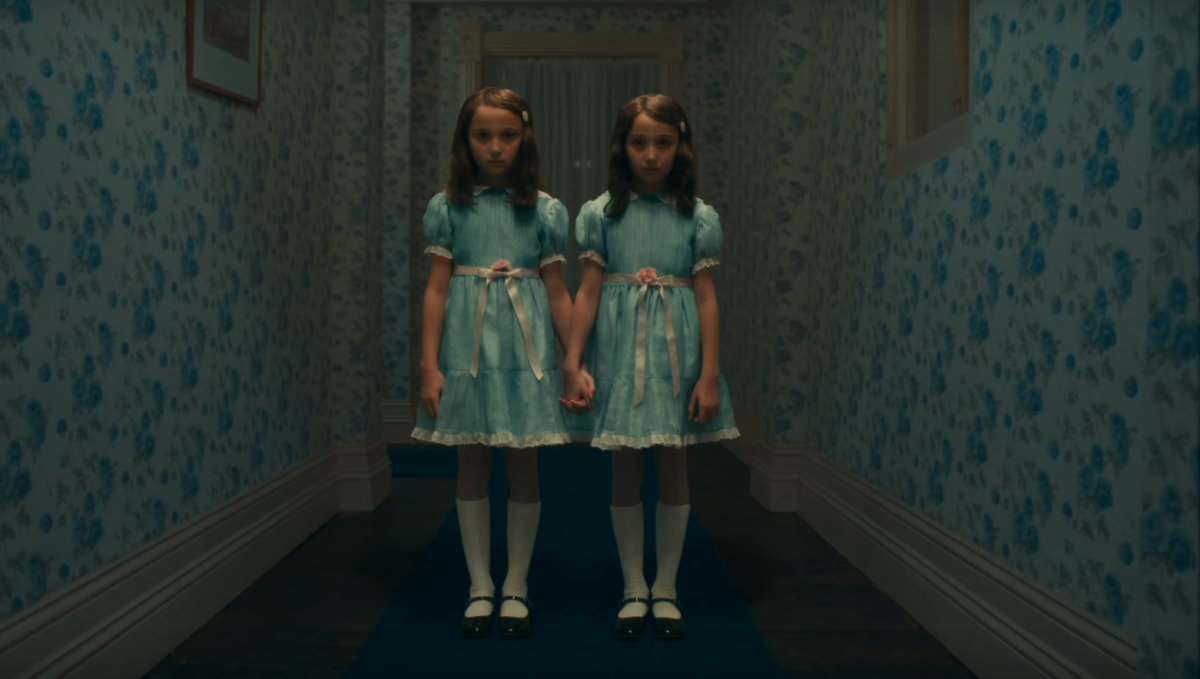 The Grady twins would like to cordially invite you back for another stay at the Overlook Hotel in Doctor Sleep.