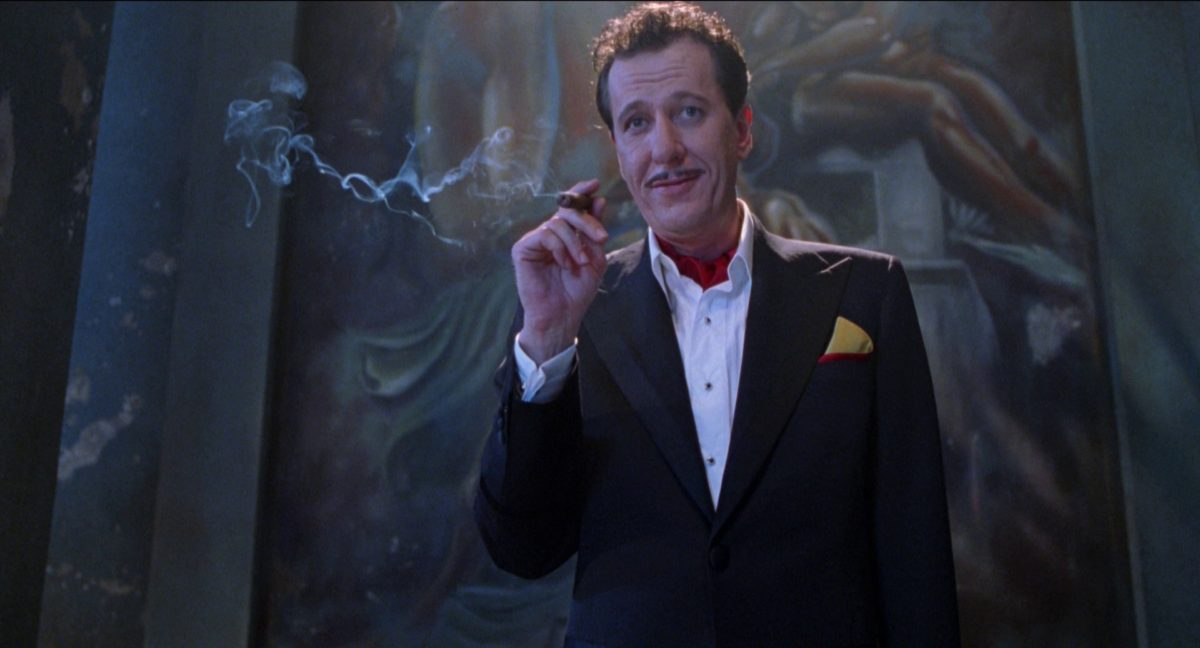20 Years Later Why Geoffrey Rush S Performance In House On Haunted Hill Is An All Timer Bloody Disgusting