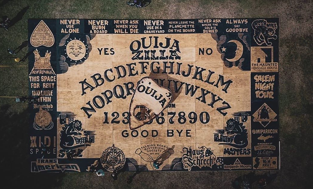Ouijazilla The World S Largest Ouija Board Unveiled In