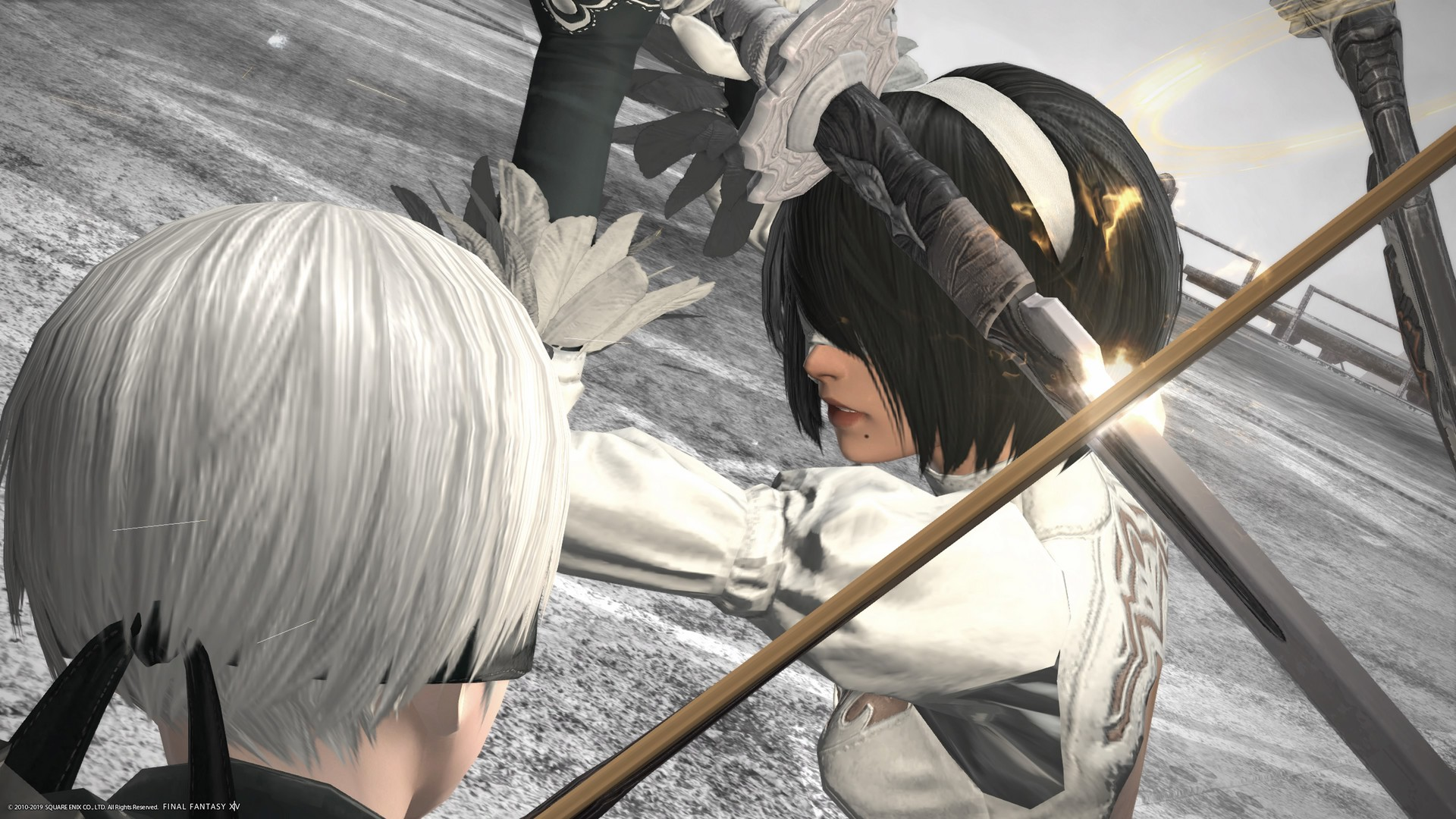 The Latest Final Fantasy Xiv Crossover Event Shows Nier