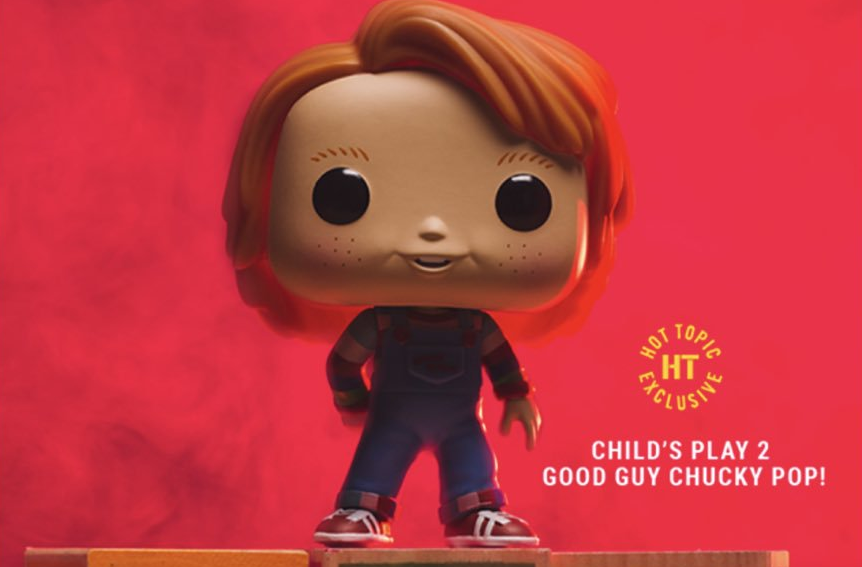 Hot Topic Is Selling A New Good Guy Chucky Pop Vinyl Toy From Funko Bloody Disgusting