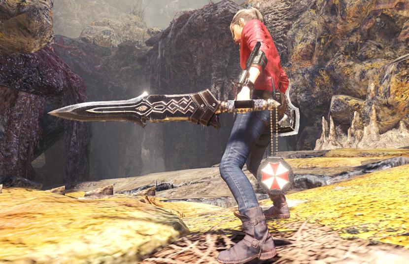 Resident Evil 2 Crossover Event With Monster Hunter World