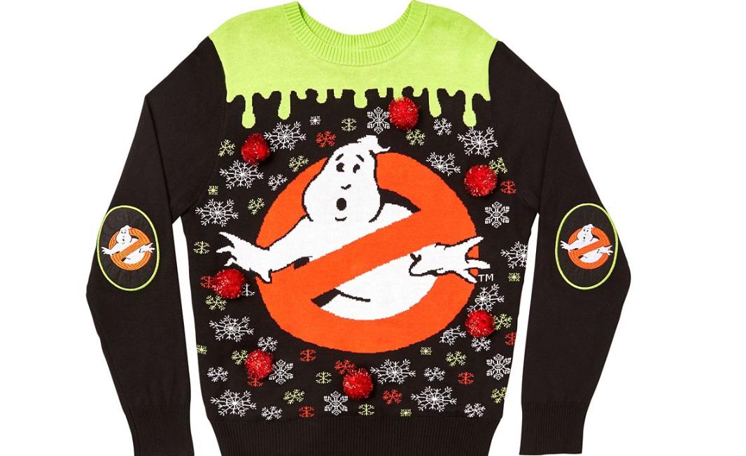 Spencer\u0027s is Selling \u0027Ghostbusters\u0027 Ugly Christmas Sweaters