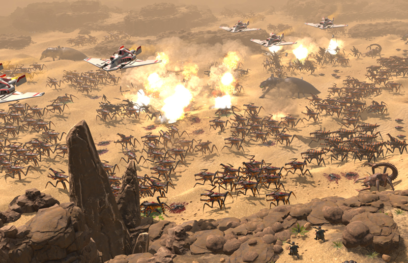 Top Rts Games 2020.Starship Troopers Returns In Rts Game Terran Command