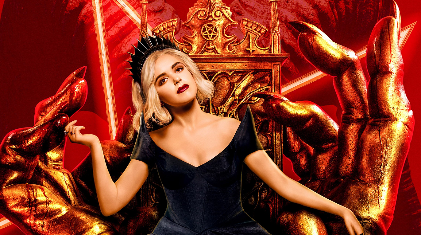netflix celebrates launch of chilling adventures of sabrina season 3 with fresh queen of hell