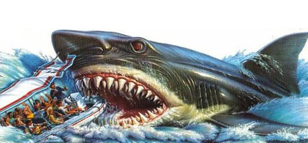Universal Orlando Celebrating 30 Years With Retro Merchandise Line Including  Jaws : The Ride  Collectible Glass