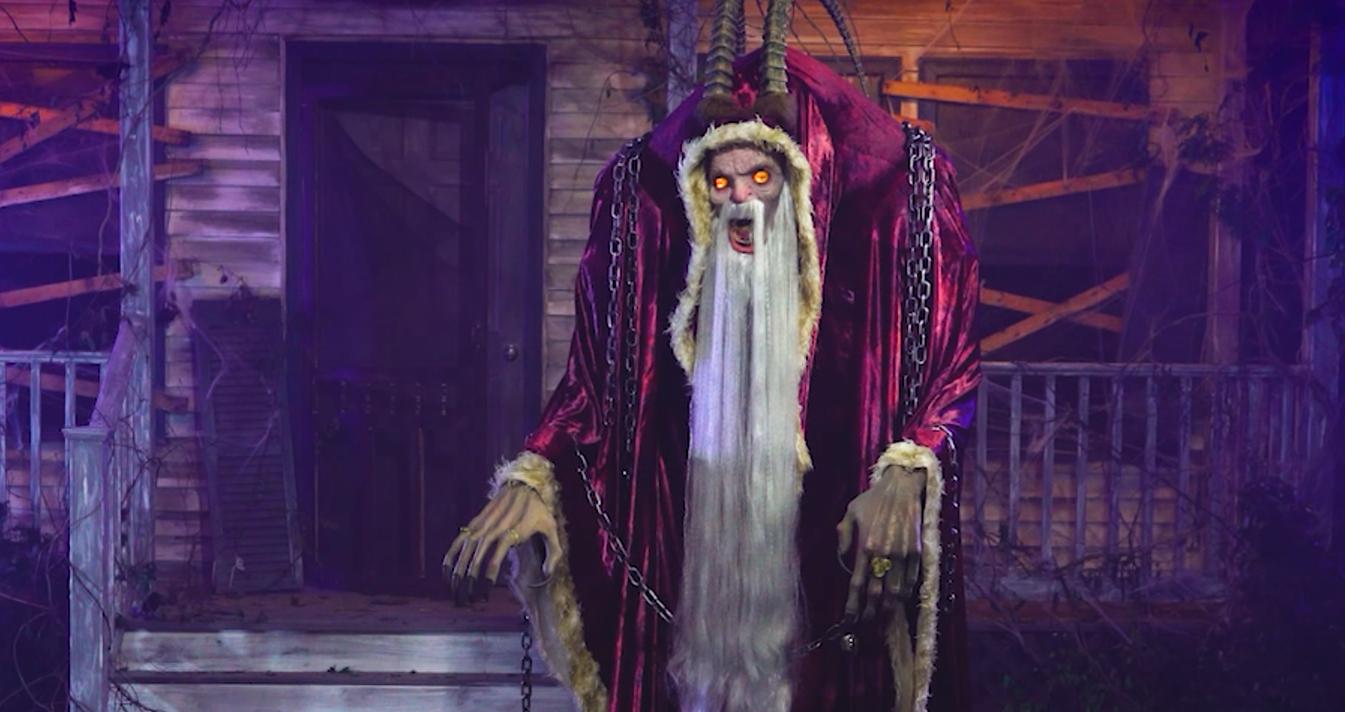 Spirit Halloween Props 2020 Spirit Halloween Turned Michael Dougherty's 'Krampus' into a