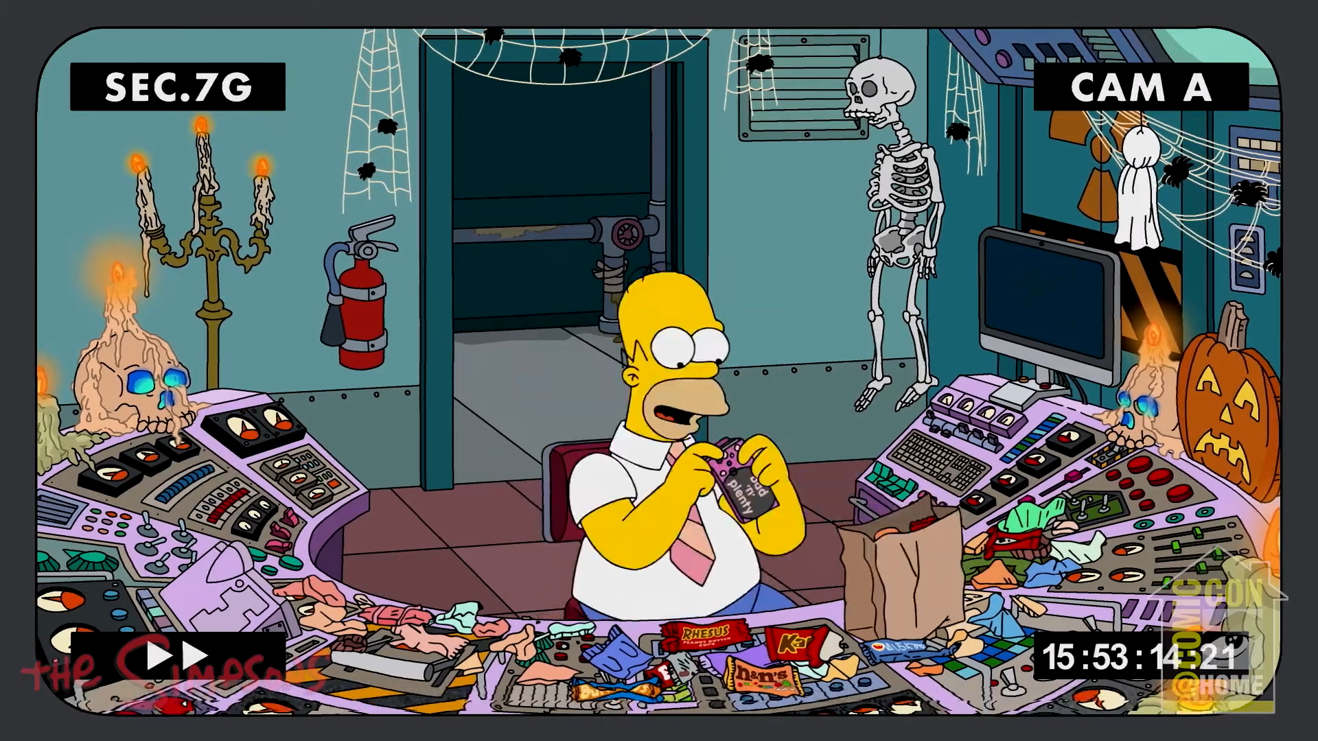 The Simpsons Preview This Halloween Season S Treehouse Of Horror Xxxi With Two Clips Bloody Disgusting