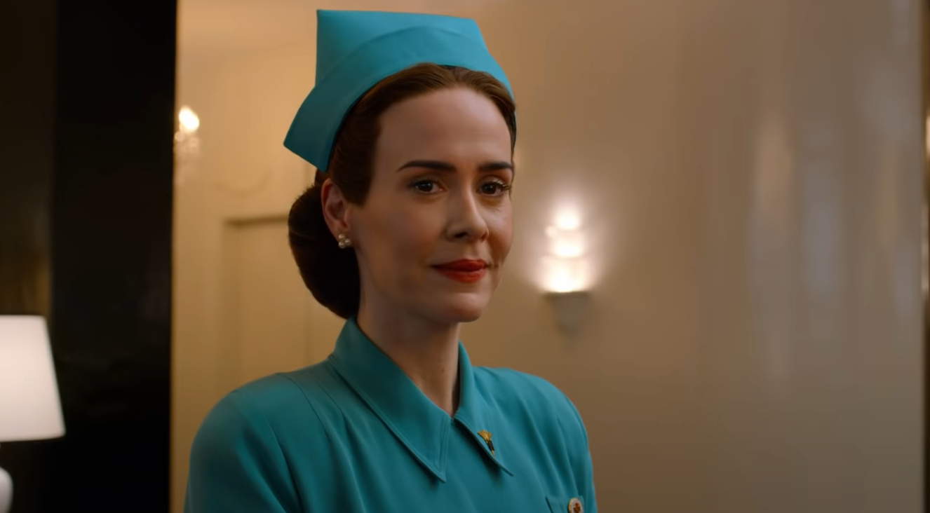 Sarah Paulson Is The Iconic Cuckoo S Nest Villain In Ryan Murphy S Netflix Series Ratched Trailer Bloody Disgusting