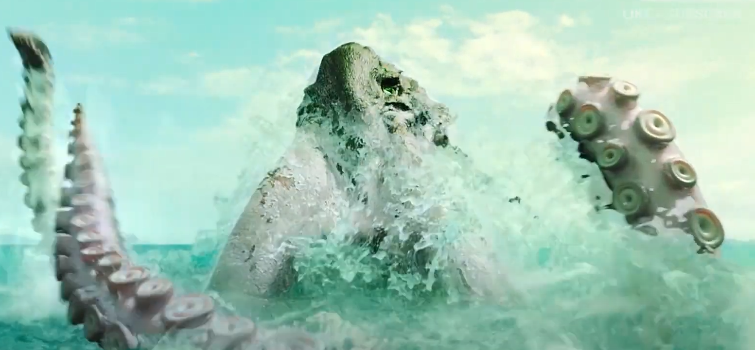 Chinese Aquatic Monster Movie 'Big Octopus' Unleashes a Cthulhu-Sized Beast [Trailer] - Bloody Disgusting