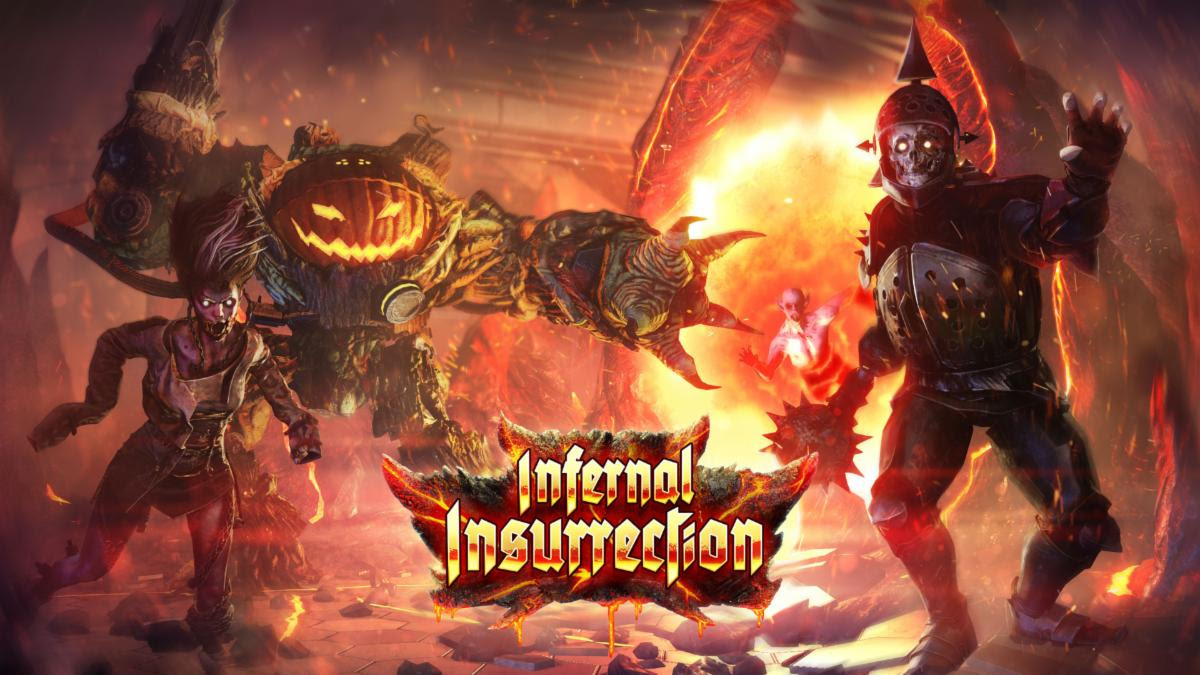 Kf2 Christmas 2021 Cosmetics This Year S Halloween Update For Killing Floor 2 Brings An Infernal Insurrection Into The Game Bloody Disgusting