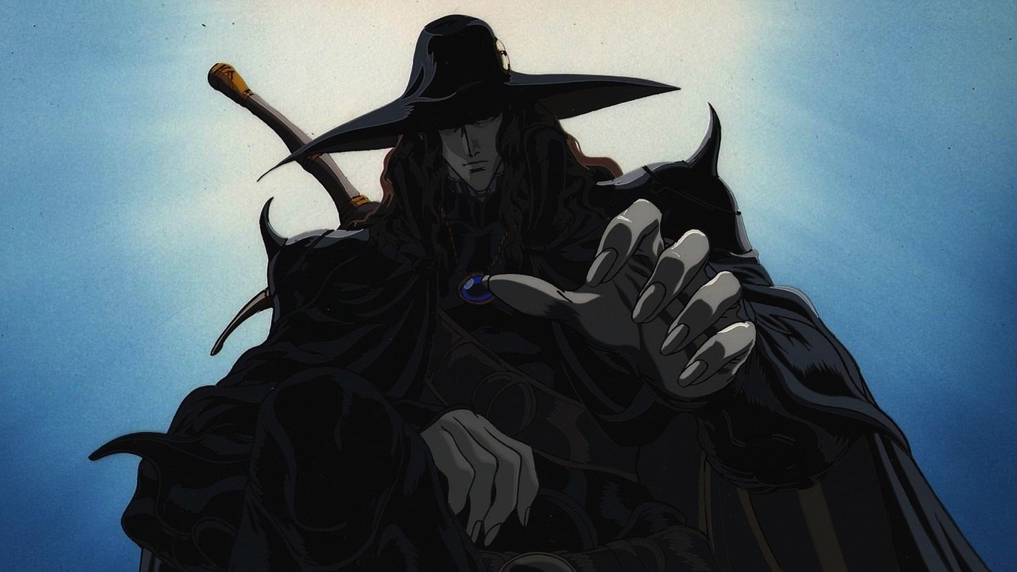 Vampire hunter D - Best vampire anime of all time