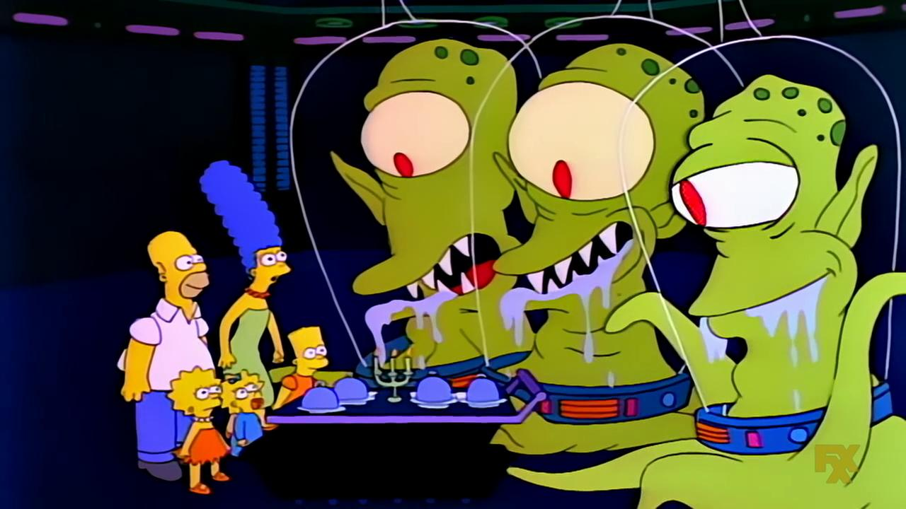 The Simpsons 30 Years Ago The Annual Treehouse Of Horror Halloween Special Was Born Bloody Disgusting