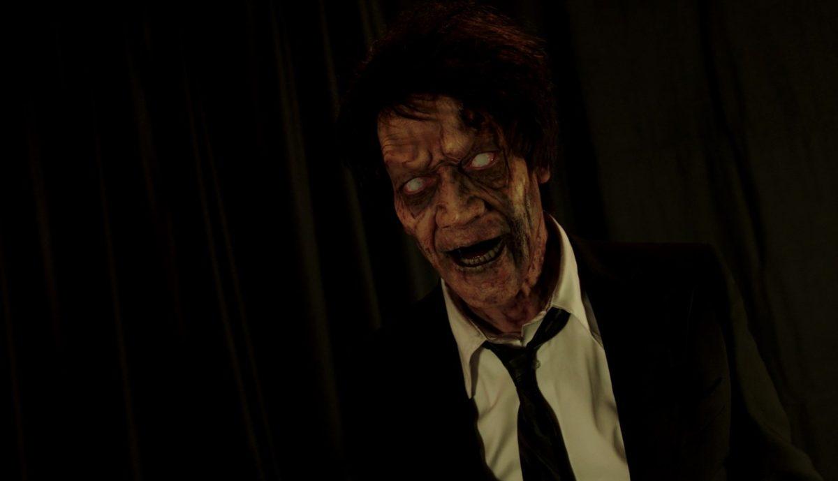 "Deadites Invade a Public TV Station in the ""Creepshow"" Season 2 Premiere! [Exclusive Clip]"