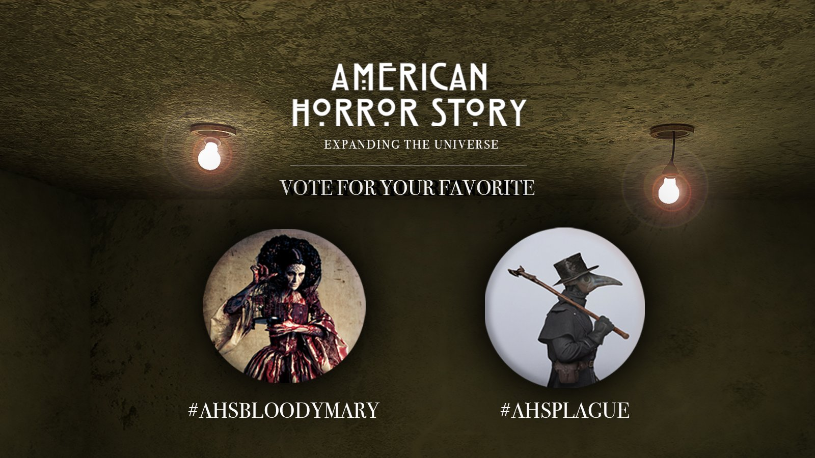 """Bloody Mary"" or ""Plague""? Ryan Murphy's ""American Horror Story"" Poll is Down to the FINAL TWO Choices"
