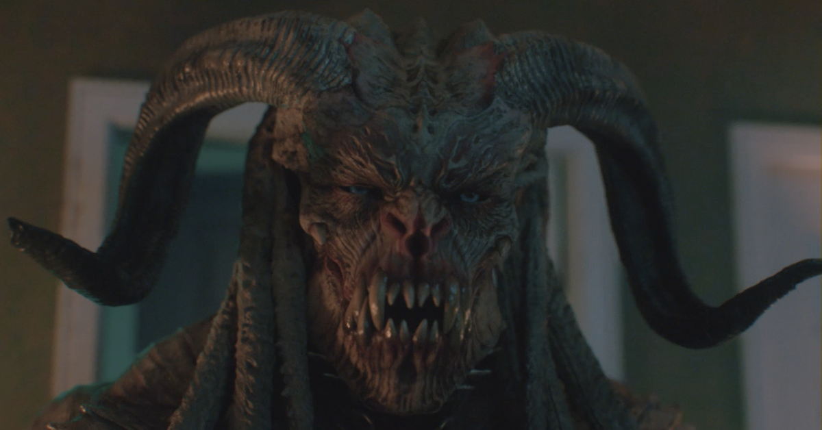 VFX-Heavy 'Behemoth' Clip Battles a Demon at the Gates of Hell [Exclusive]  - Bloody Disgusting